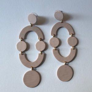 JCrew Earrings Light Pink